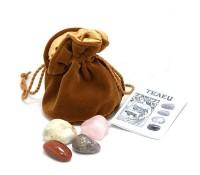 Астрологические кристаллы «Телец», 4 штуки